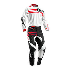 THOR Motocross trousers + Jersey 2016 - Phase Beach - white