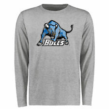 Men's Ash Buffalo Bulls Big & Tall Classic Primary Long Sleeve T-Shirt - College