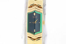 Ladies Citizen EH8912-51W Elegance Gold-Tone Stainless Steel Green Dial Watch