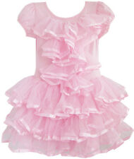 Girls Dress Multi-layer Tulle Tutu Dancing Party Kids Boutique Size 2-6
