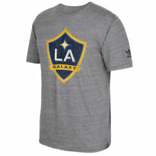 Men's adidas Heathered Gray LA Galaxy Originals Vintage Tri-Blend T-Shirt - MLS