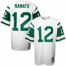 Mens New York Jets Joe Namath Mitchell & Ness White Authentic Throwback Jersey