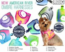 Dog Puppy Harness - Doggie Design - Ombre American River - 8 Sizes