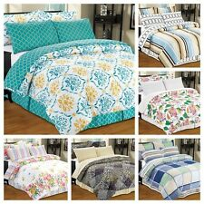 8 Piece Reversible Bed in a Bag Comforter Set TWIN FULL QUEEN KING