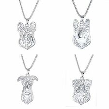 Pet Lovely Dog Breed Puppy Cute Animal Funny Alloy Pendant Necklace Gifts