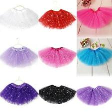 Kids Girls Tutu Skirt Party Ballet Dance Wear Princess Dress Pettiskirt Costume