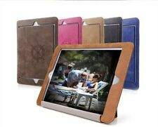 Slim Soft Leather Like Wake/Sleep Smart Cover Stand Case For iPad 2 3 4 5 6 Mini