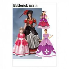 Butterick Girls Sewing Pattern 6113 Fancy Dresses Costume (Butterick-6113-M)