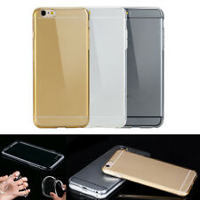 Hot Ultra Thin Transparent Soft TPU Case Skin Cover Protecter for iPhone 6/5/5s