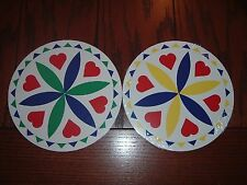 """ZOOK Novelties 8"""" HEX SIGN, Love & Romance (H-2) 1 sign, Choice of Color"""