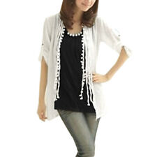 Twinset Long Sleeve Shirt + Beaded Tank Top for Ladies