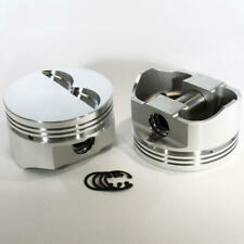 "DSS Racing 8710-4030 E Series -5cc Flat 4.030"" Forged Pistons for Chevy 383 SBC"