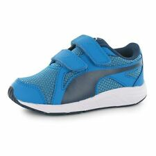 Puma Kids Axis Mesh V Boy Childs Trainers Runners Running Shoes Sport Sneakers
