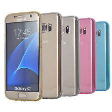 Protective Ultra Thin Clear Glossy TPU Case Cover for Samsung Galaxy S7 G930