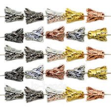 Wholesale Solid Metal Dragon Head Bracelet Necklace Connector Charm Beads 12x16m