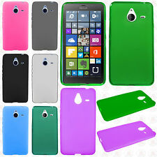 For Microsoft Lumia 640 XL Frosted TPU CANDY Flexi Gel Skin Case Phone Cover
