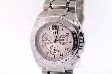 Men's ESQ Movado 7301091 Bracer Chronograph Tachymeter Stainless Steel Watch
