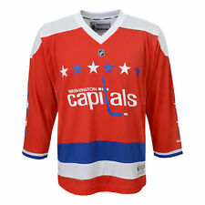 Washington Capitals Reebok Youth Replica Alternate Jersey - Red - NHL