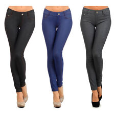 Womens Jeggings Jeans Look Skinny Stretch Sexy Soft Legging Pencil Pants S M L