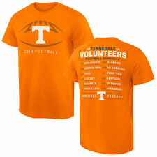 Tennessee Volunteers 2016 Football Schedule T-Shirt - Tennessee Orange - College
