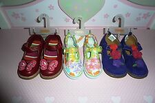 NWT Gymboree Girls Mary Janes Shoes Corgi, Butterfly Girl,Butterfly Blossoms 8 9