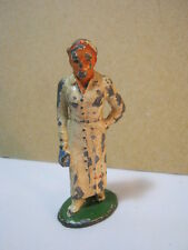 Barclay Vintage Toy Medical Nurse Lead Soldier Carrying Medical Bag  T*