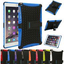 Heavy Duty Silicon Rubber Tough Shockproof Cover Case for Apple iPad Mini Air