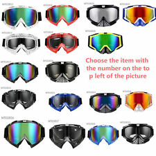 Ski Snowboarding Motorcycle Racing Goggles Eyewear Offroad Antifog Adult Riding