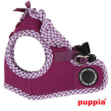 Dog Puppy Harness Soft Vest- Puppia - Vivien - Purple - Choose Size