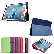 Ultra Slim PU Leather Flip Folio Book Case Cover Pouch Stand for iPad Series