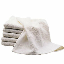 White 100% Cotton Terry Cloth Extra Absorbent Grooming Towels - Bulk Lot Packs