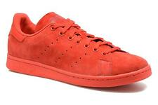 Men's Adidas Originals Stan Smith Lace-up Trainers in Red
