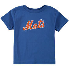 Toddler Soft As A Grape Royal New York Mets Tiny Fan Wordmark T-Shirt - MLB