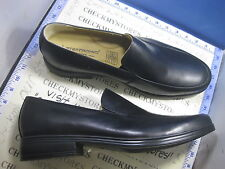 NIB   NEW Steptronic M5572112S TWIN GUSSET SHEEP SKIN LEATHER LOAFER SLIP ON