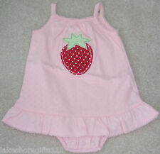 NWT GIRLS FIRST IMPRESSIONS ONESIE SIZE 6-9 & 3-6 M
