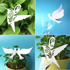 50pcs Laser Cut Bird Place Cards in White Wedding Glass Place Cards Party Gift