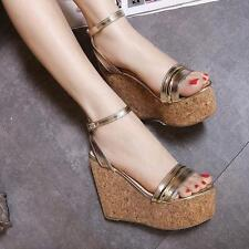New Women High Heel Platform Synthetic Leather sexy boots sandals Shoes
