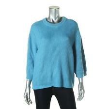 MICHAEL Michael Kors 4539 Womens Ribbed Knit Crewneck Pullover Sweater Top BHFO