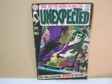 The Unexpected May No.118 DC Comics 1970 Vintage Comic Book  T*