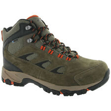 Hi-Tec 52150 Men's Logan Suede Leather/Textile Waterproof Durable Hiking Boots