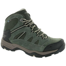 Hi-Tec 52152 Men's Bandera Mid II Dri-Tec Suede Leather Waterproof Hiking Boots