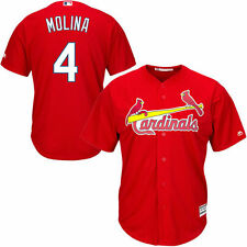 Youth Yadier Molina Red St. Louis Cardinals Official Cool Base Player Jersey