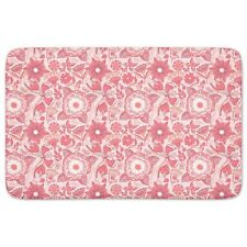 Butterfly And Flower Fantasies Bath Mat