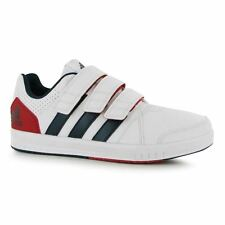 adidas Kids LK Turn 7 CF Court Trainers Velcro Sports Shoes Sneakers Junior Boys