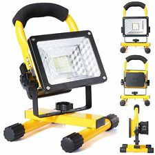 10W 24 LED Outdoor Flood Light Rechargeable Flashlight Work Lamp Camping fishing