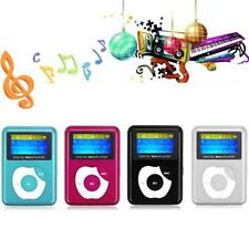 New USB Digital MP3 Music Player LCD Screen Metal Support 32GB Micro SD TF Card