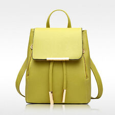 Lady Casual Backpack Knapsack Bookbag Racksack Handbag Tote Shoulder Schoolbag