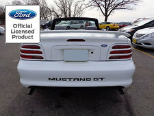 1994 1998 FORD MUSTANG LETTERS REAR BUMPER INSERTS VINYL DECALS 1995 1996 1997