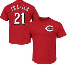 Todd Frazier Cincinnati Reds Majestic Official Name and Number T-Shirt - Red