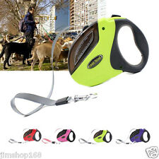 HOT Extendable Retractable Dog Training Leads Leashes 5M Load Max weight 50KG